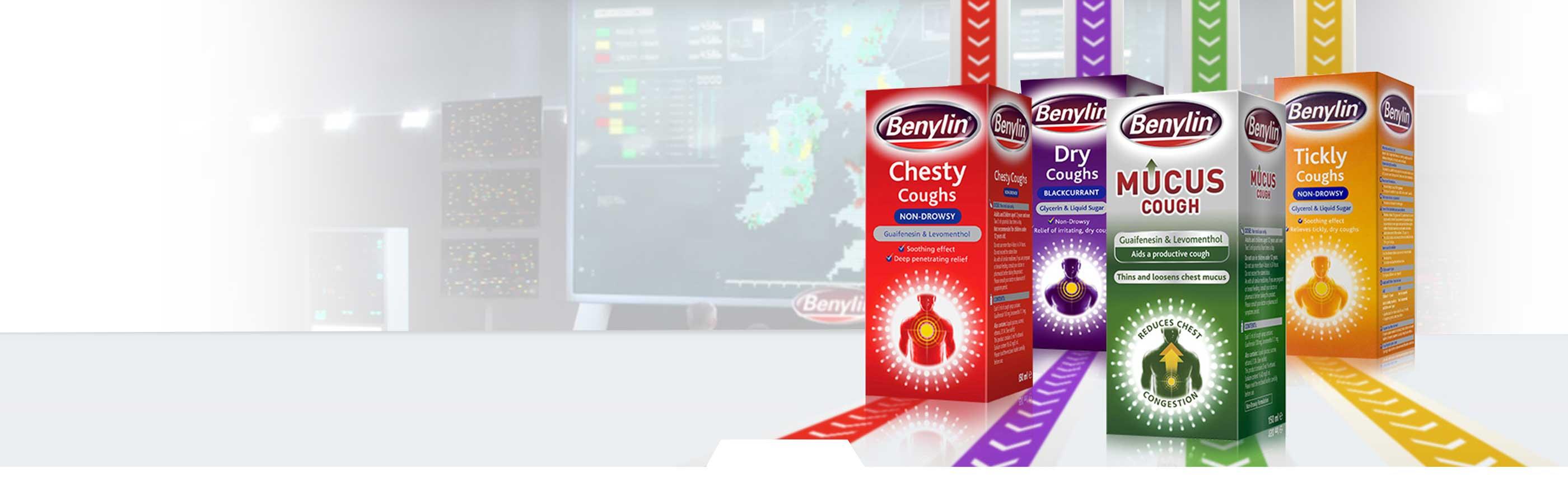 BENYLIN® Cough Product Range