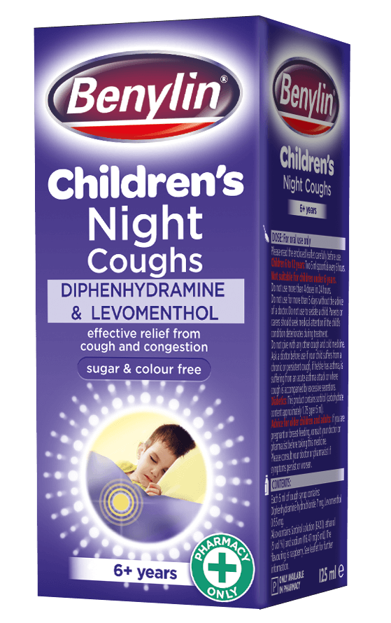 Benylin 174 Children S Night Coughs Benylin 174 Uk