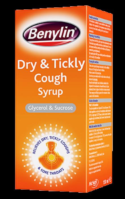 suppressant formula cough Benylin adult