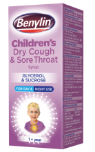 BENYLIN® Children's Dry Cough & Sore Throat Syrup