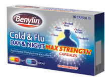 BENYLIN® Cold and Flu Day and Night Max Strength Capsules