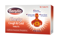 BENYLIN® Chesty Cough & Cold Tablets