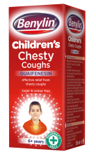 BENYLIN® Children's Chesty Coughs | Kids Cough Medicine