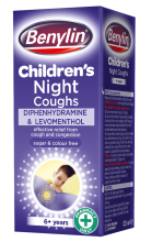 BENYLIN® Children's Night Coughs | Kids Cough Medicine