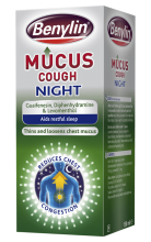 BENYLIN® Mucus Cough Night | Cough Medicine