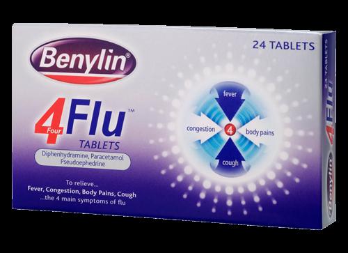 BENYLIN® 4 Flu Tablets