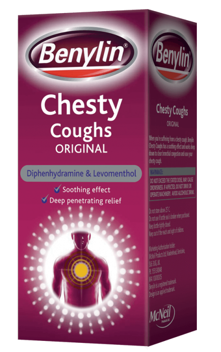 BENYLIN® Chesty Coughs Original