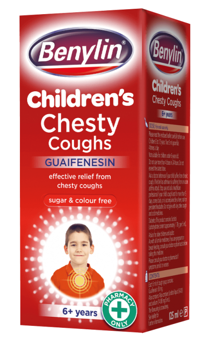 BENYLIN® Children Chesty Coughs