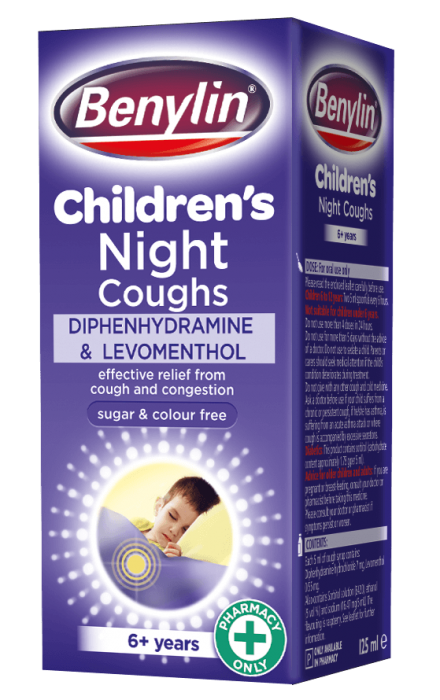 BENYLIN® Children's Night Coughs