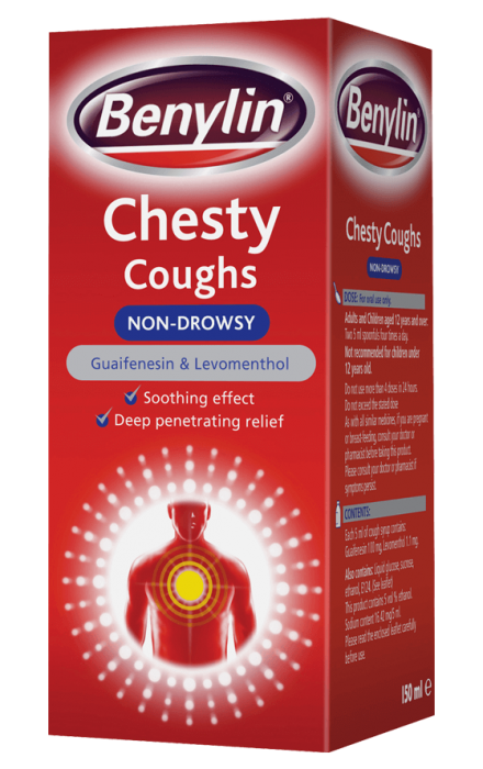 BENYLIN® Chesty Coughs Non-Drowsy