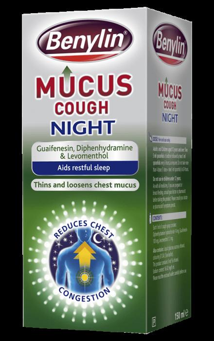 BENYLIN® Mucus Cough Night Cough Medicine