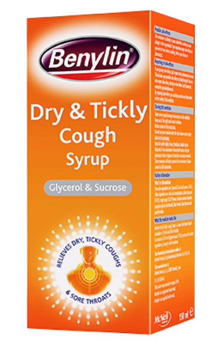 BENYLIN® Dry and Tickly Cough Syrup