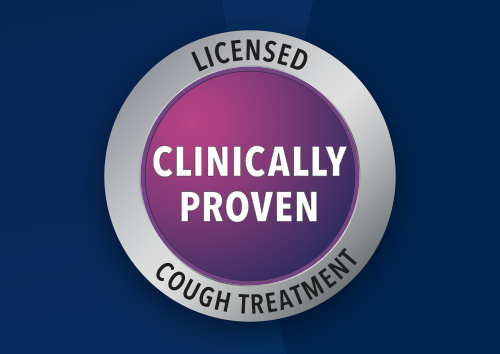 Ease your cough and cold symptoms with clinically proven ingredients