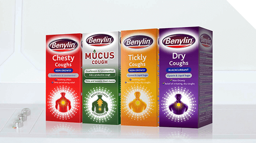 BENYLIN® Cough Product Range